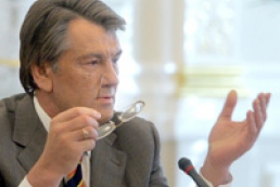 Yushchenko calls political forces to refuse radical steps