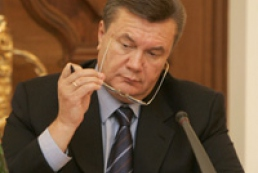 Yanukovych told how consequences of disaster in Crimea are being liquidated