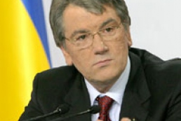 Yushchenko condoles with families of dead miners