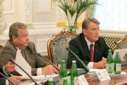 Yushchenko dismissed Plyushch