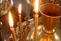 Orthodox Christians have Christmas fast