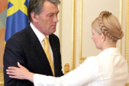Tymoshenko thanked Yushchenko for early elections