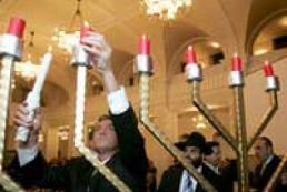 President attended Hanukkah celebrations