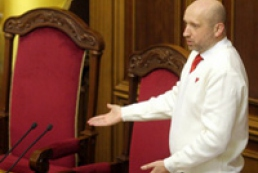 Turchynov hopes opposition will not show its fear of Tymoshenko