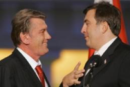 Yushchenko congratulated Saakashvili on victory