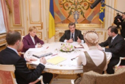 President meets with Tymoshenko and Yatsenyuk