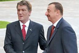 President Yushchenko met with President of the Republic of Azerbaijan