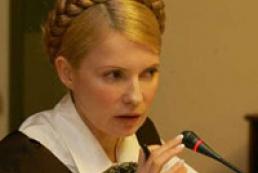Tymoshenko convincing EU of white stream gas pipeline use