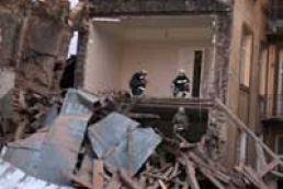 Gas blast happened in Lviv (photo)