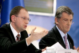 Yushchenko refused to help Yatsenyuk