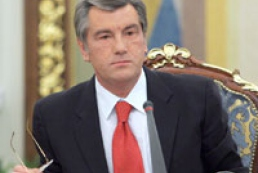 Yushchenko has opened first sitting of the National Constitutional Council