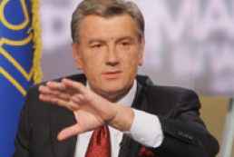 Yushchenko denies threat of NATO to Russia