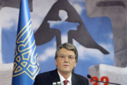 Yushchenko to participate in presentation of a book on Holodomor