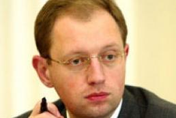 Yatsenyuk doesn't intend to take chair of Yushchenko