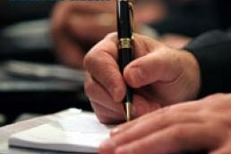 Yatsenyuk signed resolution on Kyiv mayor elections