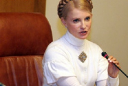 Tymoshenko waits for visit of Bush