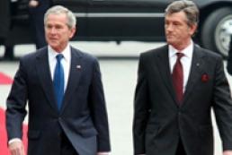 Bush supports Ukraine's joining NATO