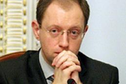 Yatsenyuk hopes that plenary week will be quiet