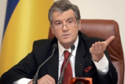 Yushchenko waits for cancellation of moratorium on land sale this year