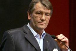 Yushchenko has left for Kharkiv