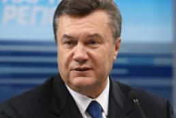 Yanukovych congratulated new RF President