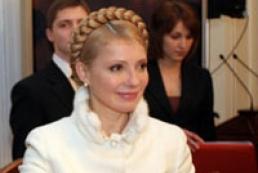 Yulia Tymoshenko hails President of RF Dmitry Medvedev