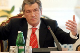 Yushchenko is against early parliamentary elections