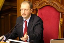 Yatsenyuk calls to be diplomatic with Russian Federation