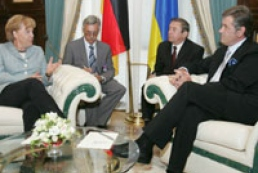 Yushchenko pleased with talks and overall relations development between Ukraine and Germany