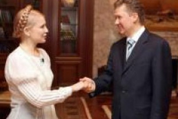 Tymoshenko might meet Gazprom president