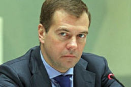 Medvedev: Yushchenko's decrees on Russian fleet are nothing but emotions