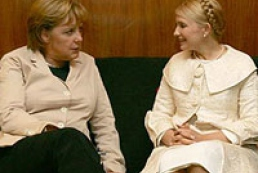 Tymoshenko held a telephone conversation with Merkel