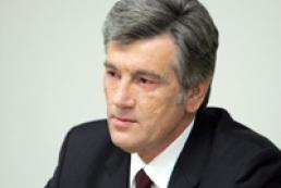 Yushchenko ready to stress the country