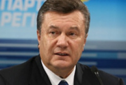 Political council of the PR approved Yanukovych the head of the election campaign