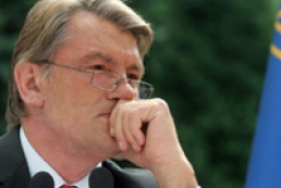 Yushchenko thanked European Parliament despite refuse to recognize the holodomor as act of genocide