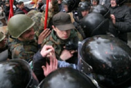 Left and right forces clashed in Lviv