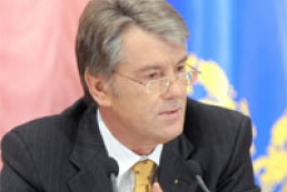 Yushchenko thinks PR and BYuT announce wide coalition today