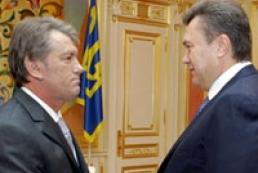 Yushchenko gave advice to Yanukovych
