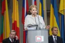 Tymoshenko attended 20th anniversary of communism regime fall in Eastern Europe (photo)