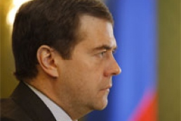 Comments on Medvedev's message to Yushchenko