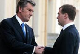 Yushchenko's letter to Medvedev