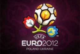 Official logo for UEFA EURO 2012 presented in Kyiv