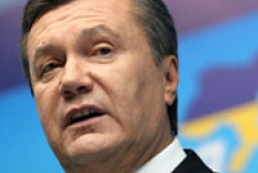 Yanukovych receiving congratulations from foreign leaders