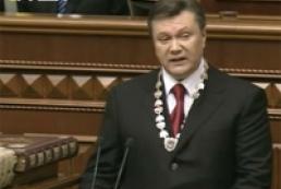 President Viktor Yanukovych's address to Verkhovna Rada of Ukraine