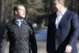 Yanukovych persuaded Medvedev into cheap gas