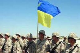 Ukraine plans to have fully professional army by 2015