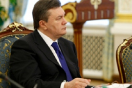President Yanukovych: The time has come