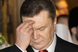 Yanukovych discuss church-state relations