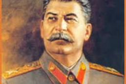 36 percent of respondents consider former USSR leader Joseph Stalin as great leader