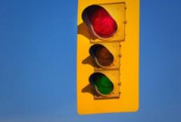 English speaking traffic lights